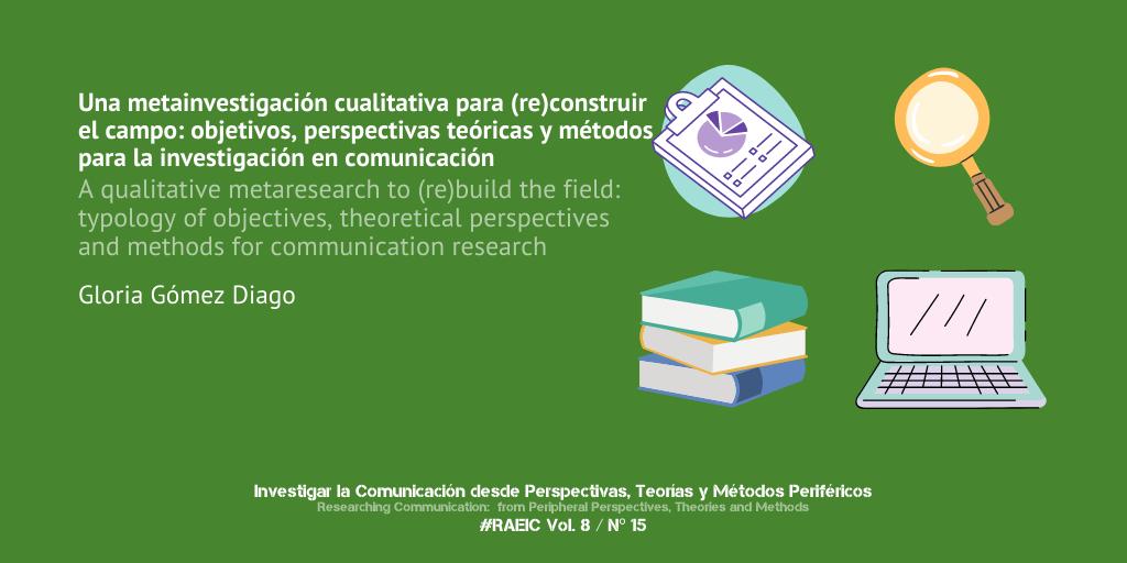 Una metainvestigación cualitativa para (re)construir el campo: objetivos, perspectivas teóricas y métodos para la investigación en comunicación