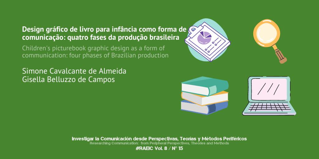 Design gráfico de livro para infância como forma de comunicação: quatro fases da produção brasileira